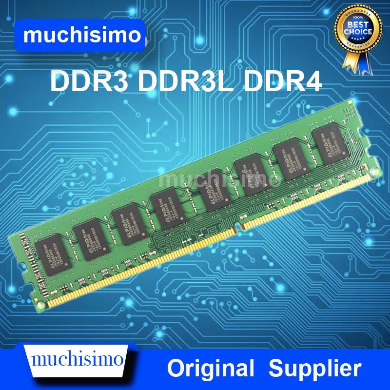 Memória RAM DDR3 DDR3L DDR4 4GB GB 2 8GB 1066 1333 1600 2133 2400 2666MHz Computador Desktop DIMM 240pin Novo Sistema Totalmente compatível