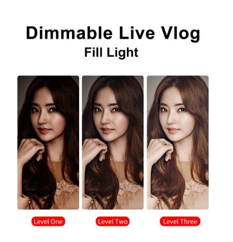Led лампа для цифровой видеозаписи ulanzi 96 камеры освещение