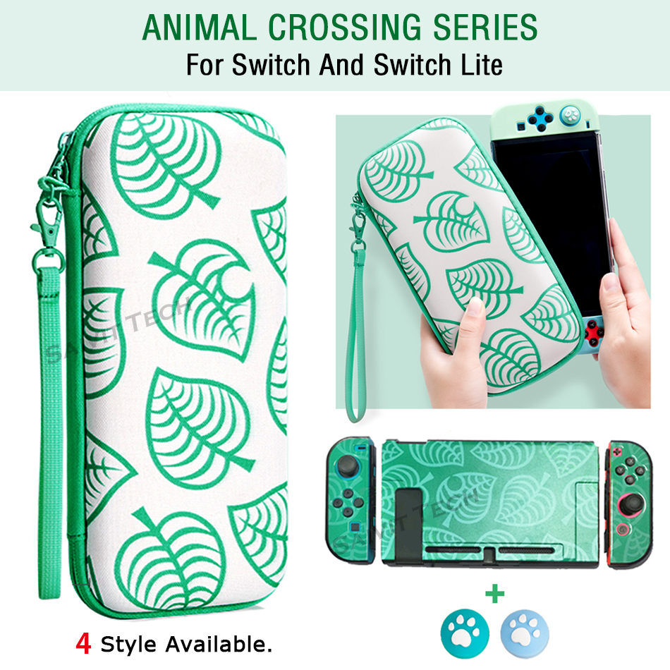 Nintend Switch Case Animal Crossing Nintendos Console Storage Bag for Nitendo Switch/Lite AnimalCrossing Accessories(China)