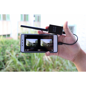 Image 5 - Easy to use UVC OTG 5.8G 150CH FPV Receiver For Android Smartphone and CMOS 1000TVL 2.8mm FPV Camera 600mW FPV Video Transmitter