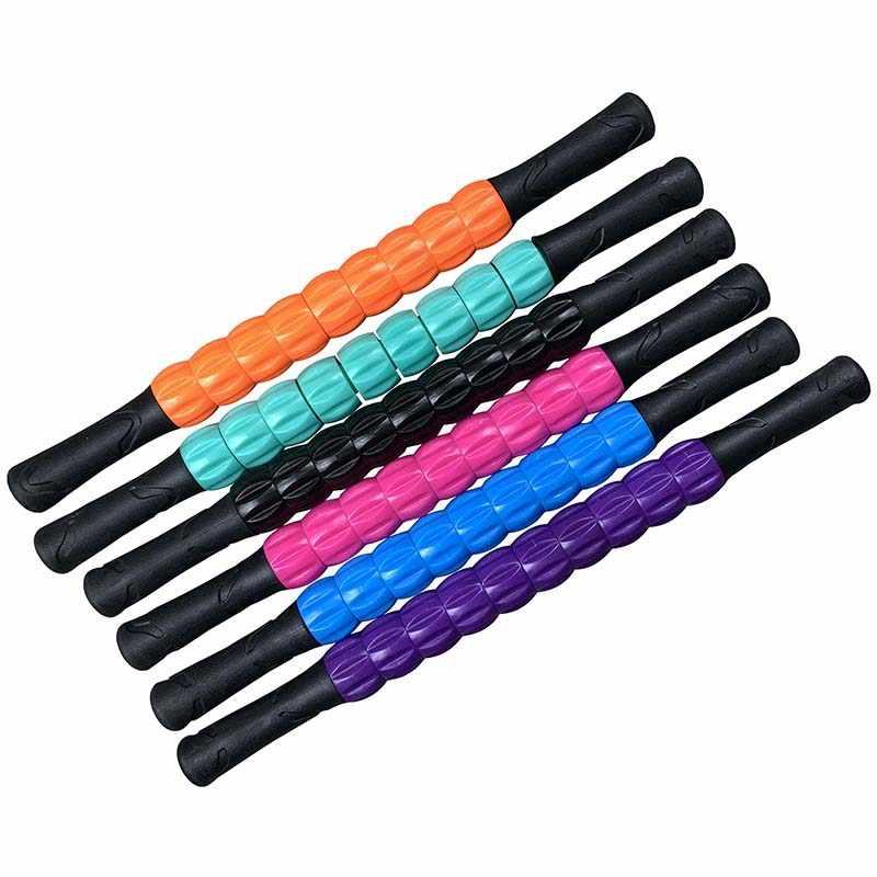 ราคาถูกMassaนวดSticksผ่อนคลายกล้ามเนื้อRoller TOOL TriggerแบบพกพาสำหรับออกกำลังกายSlimmerโยคะขาแขนคอPain Killer
