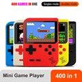 Портативная мини игровая консоль в стиле ретро, Карманная игровая консоль 3,0 дюймов, 400 игр в 1