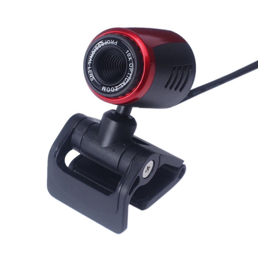USB2.0 HD Webcam Camera Web Cam With Mic For Computer PC Laptop Digital HD Video Camera Practical Camera