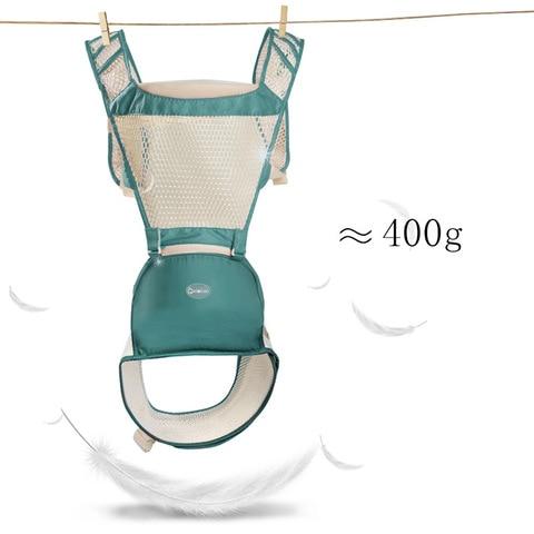 AIEBAO Baby Carrier Breathable Kangaroo Baby Travel Backpack Summer Baby Sling Canguru Infant Hipseat Belt Baby Wrap Waist Stool Lahore
