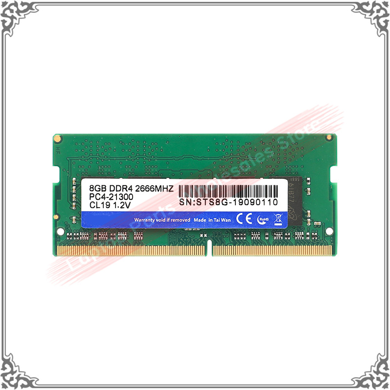 Notebook 4GB <font><b>8GB</b></font> <font><b>DDR4</b></font> 2666MHZ PC4-21300 CL19 1.2V STS8G-19090110 ddr 4 PC <font><b>RAM</b></font> 4GB/<font><b>8GB</b></font> Memory For Laptop image