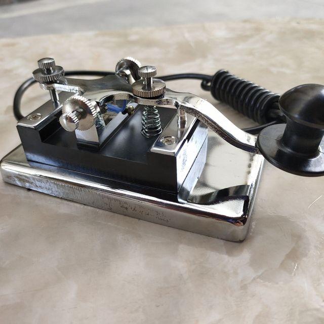K-4 klucz ręczny o krótkiej fali radio morse'a kod morse'a CW telegraph K4