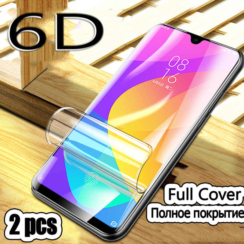 2Pcs Phone Soft Film Screen Protector For Xiaomi Mi 9 SE 9T Pro CC9e 9T Cover Protective Film For Xiaomi A1 A2 A3 Lite Not Glass