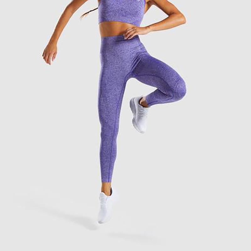 Person - Yoga High Waist Seamless Leggings