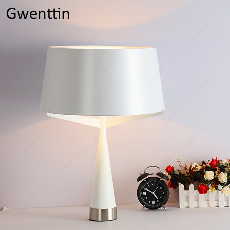 Скандинавские железные настольные лампы для гостиной, спальни, кровати, современный домашний декоративный Настольный светильник, светодио...