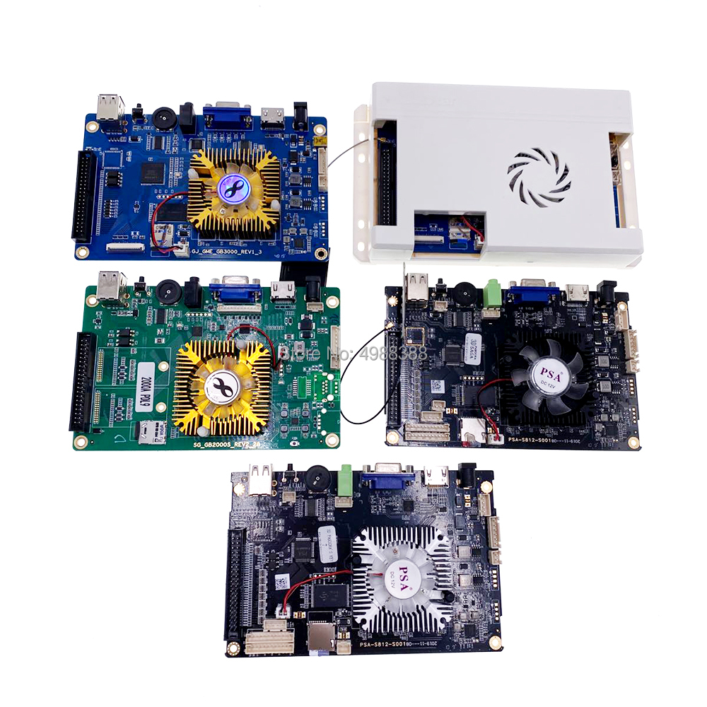 Pandora box game board 3D WFI 8000 IN 1 9H 3288 3303 5000 in 1 replacement game console motherboard home game machine main board