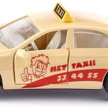Taxi, Metall/Kunststoff, Cremefarben, ffenbare Tren, Anhngerkupplung