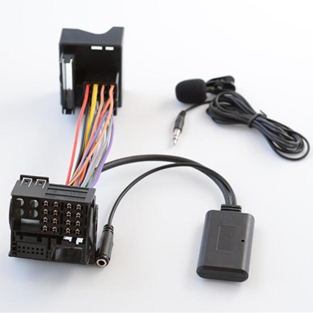 Автомобильный адаптер Biurlink AUX Bluetooth 5,0, беспроводной музыкальный аудио кабель, микрофон, свободные руки, вход для BMW E83 85 86, для MINI COOPER