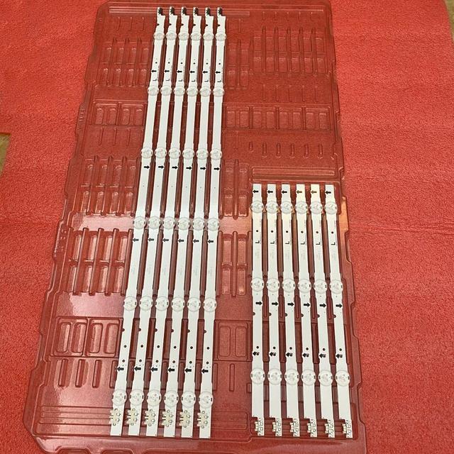12pcs LED 백라이트 스트립 삼성 UE48J5500AK UE48H6240 UE48H6400AK UE48J6275SU UE48J5510AK UE48J6270 UE48J6250 UE48J6250SU