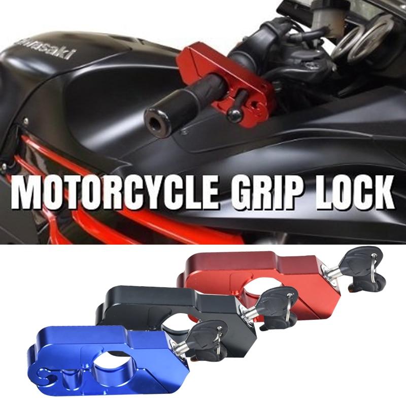Vehemo Motorcycles Anti-Theft Handle Lock Locks Off-Road Bicycles Portable Two Keys CNC Brakes Lock Scooters