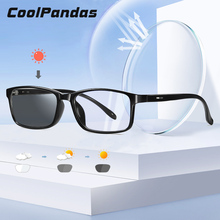 Brand Designer Ultralight Square frame Photochromic Sunglass