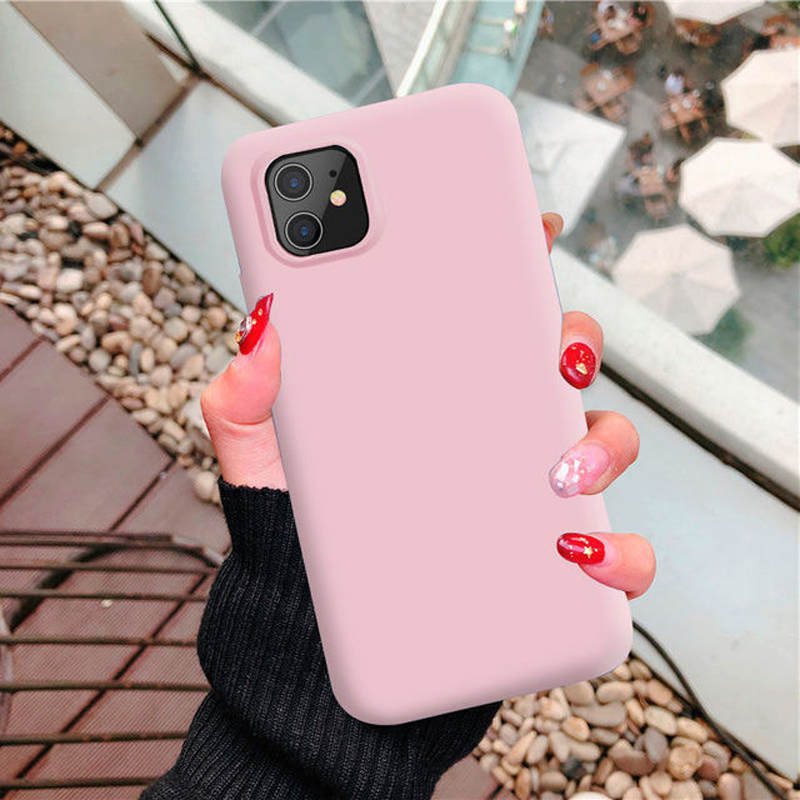 1:1 Mobile Phone Fitted Case For Apple SE 2020 Back Cover For Iphone 11 Phone Cases XS XR 8 Plus 7 6S Plus Para Fundas