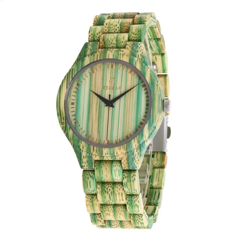 2020 When Redear Into Color Bamboo Watch Fashion All Amazon New Fund Sell Like Hot Cakes