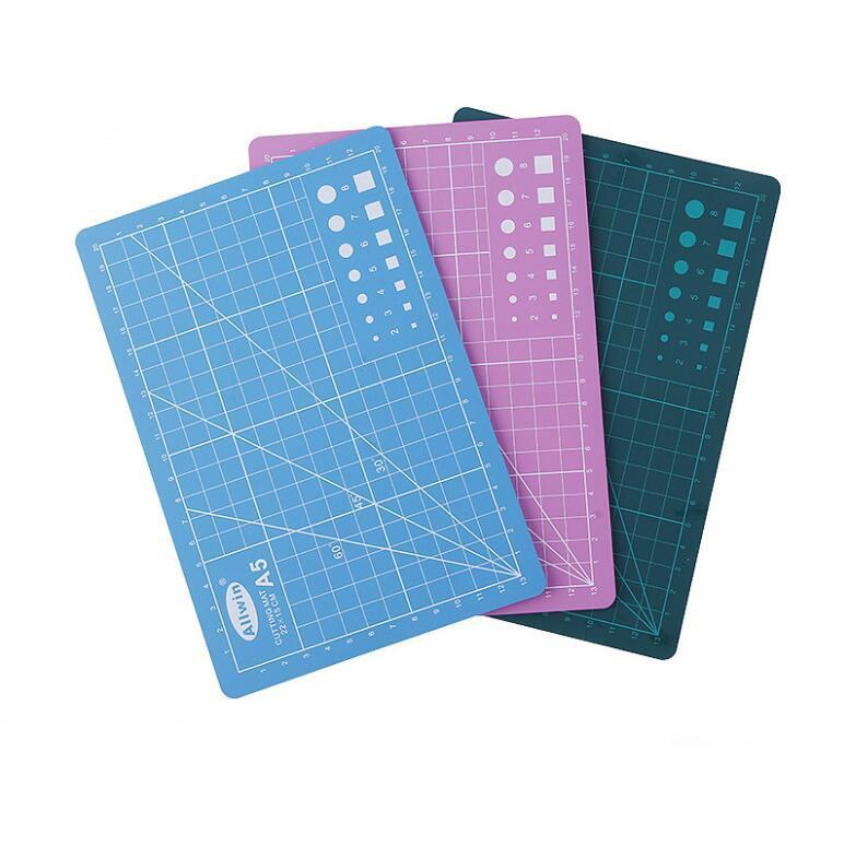 1 Piece A4 A5 PVC Cutting Mat Pad Patchwork Cut Pad A5 Patchwork Tools Manual DIY Tool Cutting Board