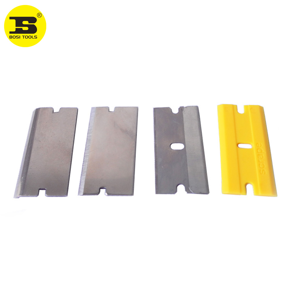 BOSI 4pc Putty Knife Scraper Blades Set Fitted To Scraper BS529240