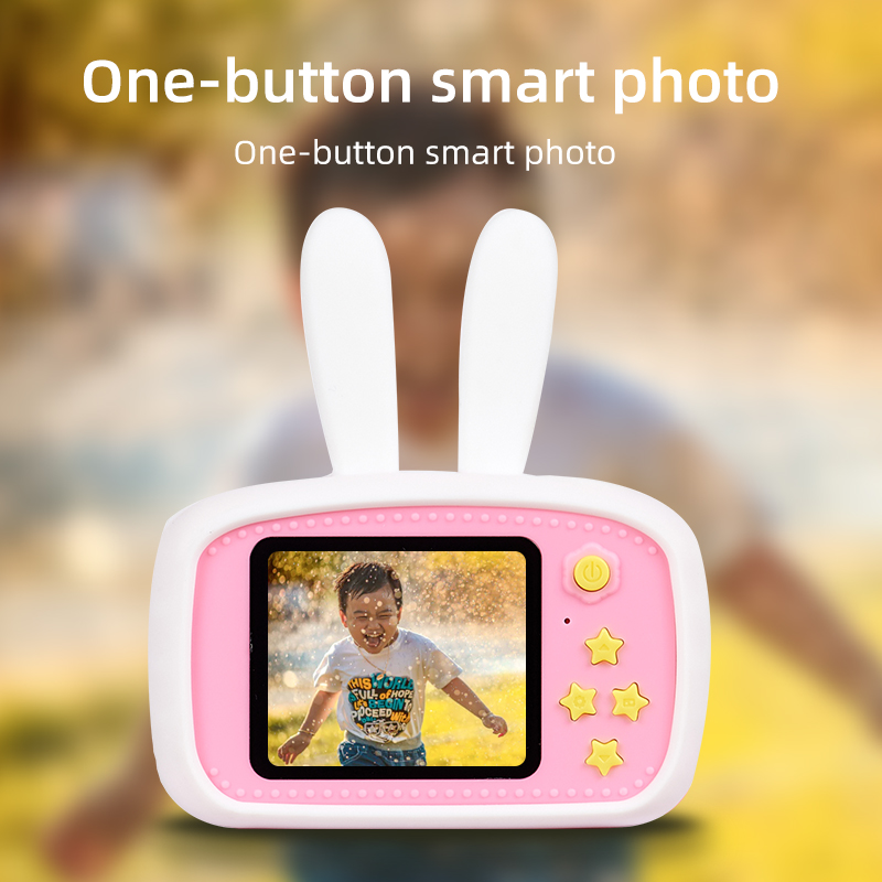 Digital Camera For Kids,Shockproof And Front And Rear Selfie Camera 12.0M With 2.0 Inch IPS Screen 16GB SD Card Educational Toys