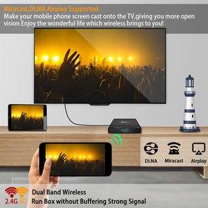Image 3 - Transpeed Max artı Android 9.0 sekiz çekirdekli TV kutusu RK3368 PRO 64GB 128GB 4K Google oyun youtube yüksek performanslı CPU TV kutusu