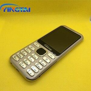 Image 5 - Nouveau modèle original YINGTAI S1 Ultra mince métal placage double SIM écran incurvé caractéristique téléphone portable Bluetooth téléphone portable daffaires