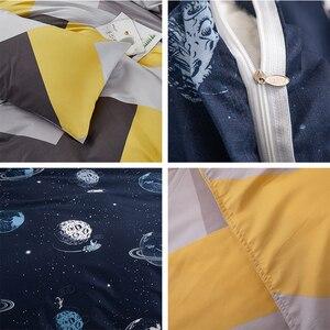 Image 3 - Alanna HD ALL mode parure de lit pur coton A/B double face motif simplicité drap de lit, housse de couette taie doreiller 4 7 pièces
