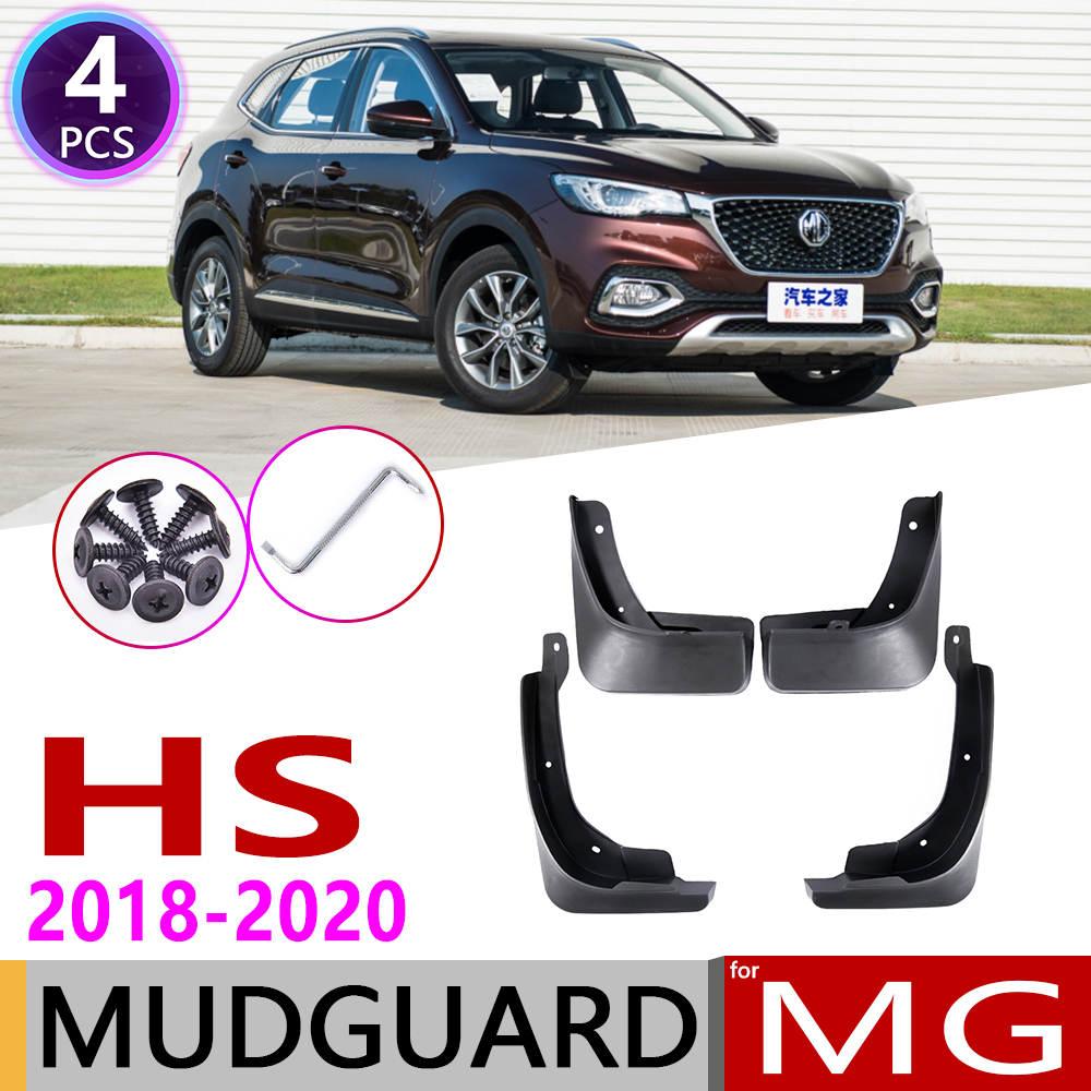 4 PCS Front Rear Car Mudflaps for MG HS MGHS 2018 2019 2020 Fender Mud Guard Flaps Splash Flap Mudguards Accessories