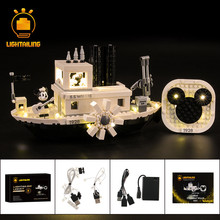 LIGHTAILING LED Light Kit For Steamboat Willie Set Compatible With 21317 (NOT Include The Model)