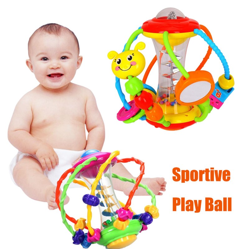 Toys For Toddlers Colorful Baby Sensory Rattle Toys Graphic Digital Cognition Early Educational Toys For Baby Toys 0-12 Months