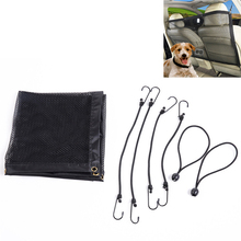 New Pet Dog Car Auto Back Guard Seat Children Mesh Safety Oxford Net Barrier Puppy Accessories Costume Product