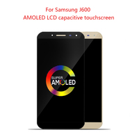 AMOLED For Samsung Galaxy J6 2018 J600 J600F J600Y LCD screen Display and touch Glass pannel Assembly