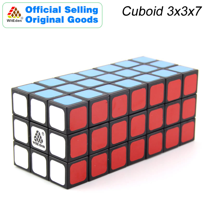WitEden 3x3x7 Cuboid Magic Cube 337 Cubo Magico Professional Speed Neo Cube Puzzle Kostka Antistress Toys For Children