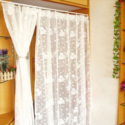 Multifunction Curtain Telescopic Rod Room Expansion Link Spring Loaded Extendable Net Voile Tension Curtain Rail Pole Durable
