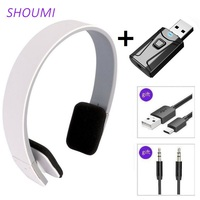Cuffie sportive cuffie senza fili con auricolare a cancellazione di rumore HD con adattatore TV USB Bluetooth HiFi Deep Bass Sound per Xiaomi TV
