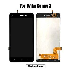 Image 2 - Nuevo Original para Wiko Sunny 3 LCD y digitalizador de pantalla táctil con marco de pantalla de visualización módulo accesorios de montaje herramientas de repuesto