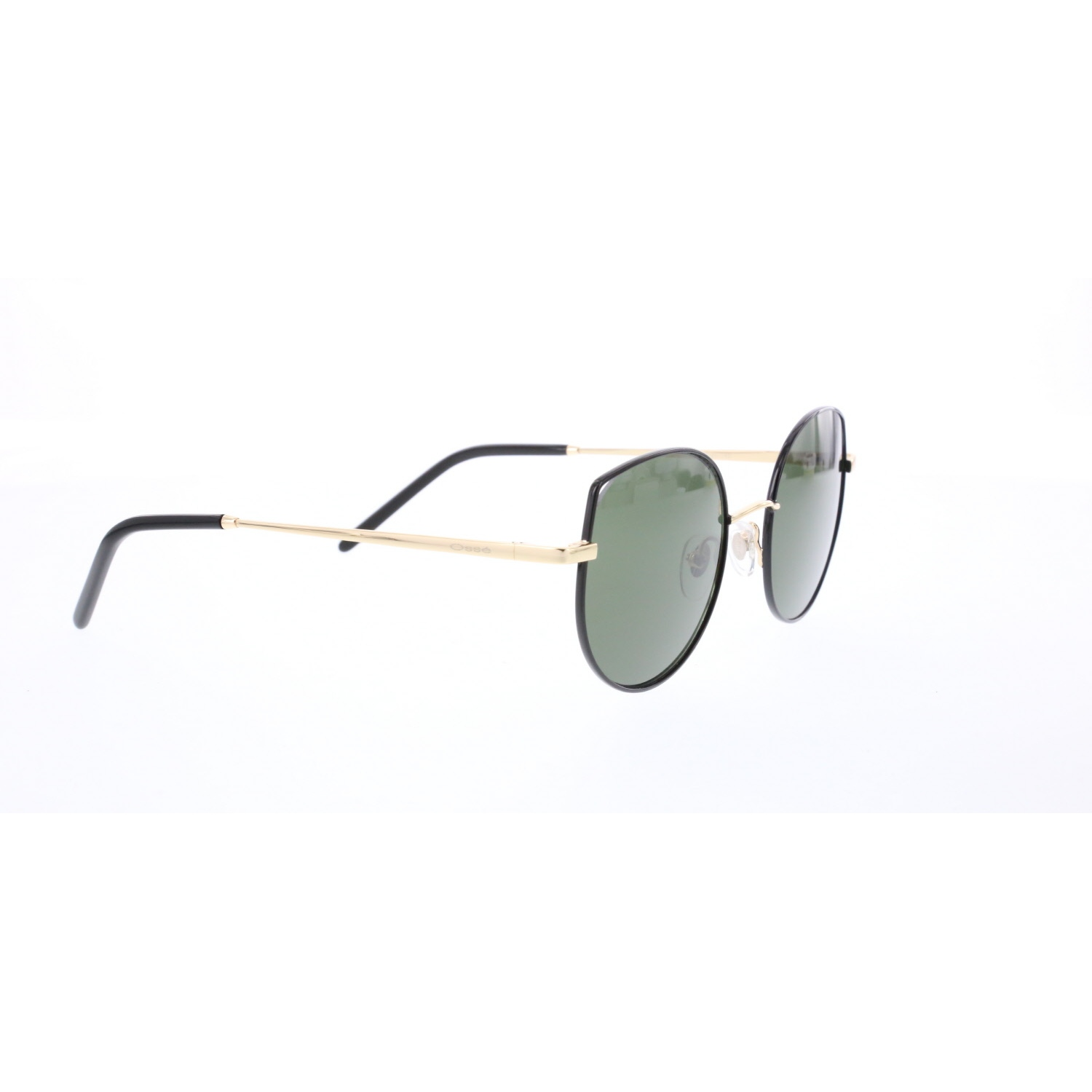 Women's sunglasses os 2861 02 metal black organic oval aval 51-20-140 osse