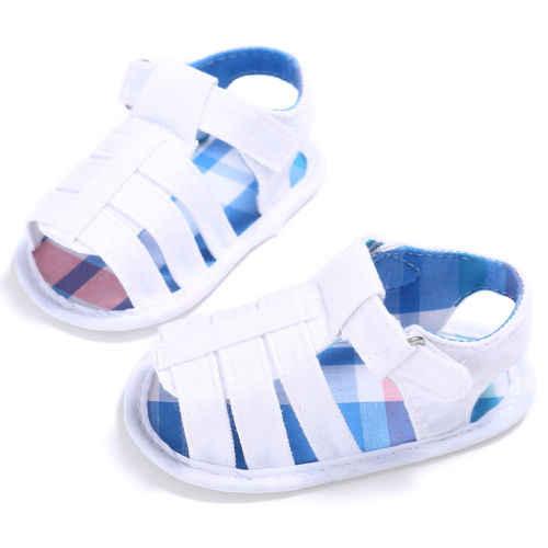 Sandalias de verano para bebé recién nacido a la moda ahuecan hacia fuera las sandalias para niños y niñas zapatos