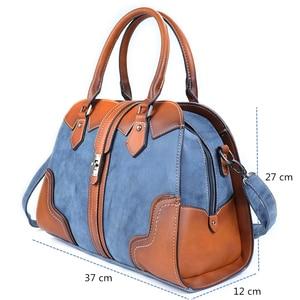Image 2 - 2019 New Luxury Vintage Women Handbags Designer Brand Crossbody Bags Leather Women Shoulder Bag Laides Hand Bag Purse Tote