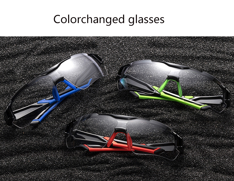 Goggles - ROCKBROS Photochromic Cycling Glasses Bicycle Outdoor Sports Sunglasses