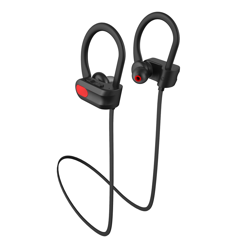 Bluetooth Headphones Waterproof Ipx7,Wireless Earbuds Sport,Bass Stereo In-Ear Earphones 6 Hrs Playback,Noise Cancelling Micro-p