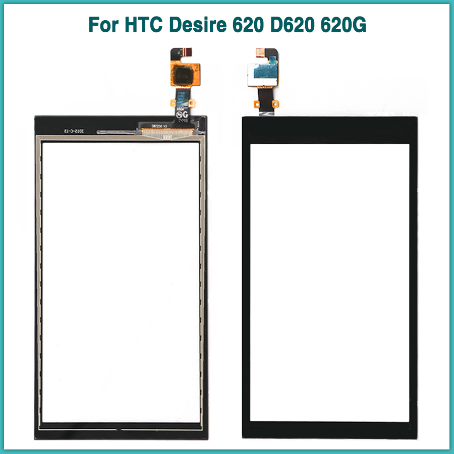 new D620 TouchScreen For HTC Desire 620 D620 620G Touch screen panel Digitizer Sensor LCD Front Outer Glass