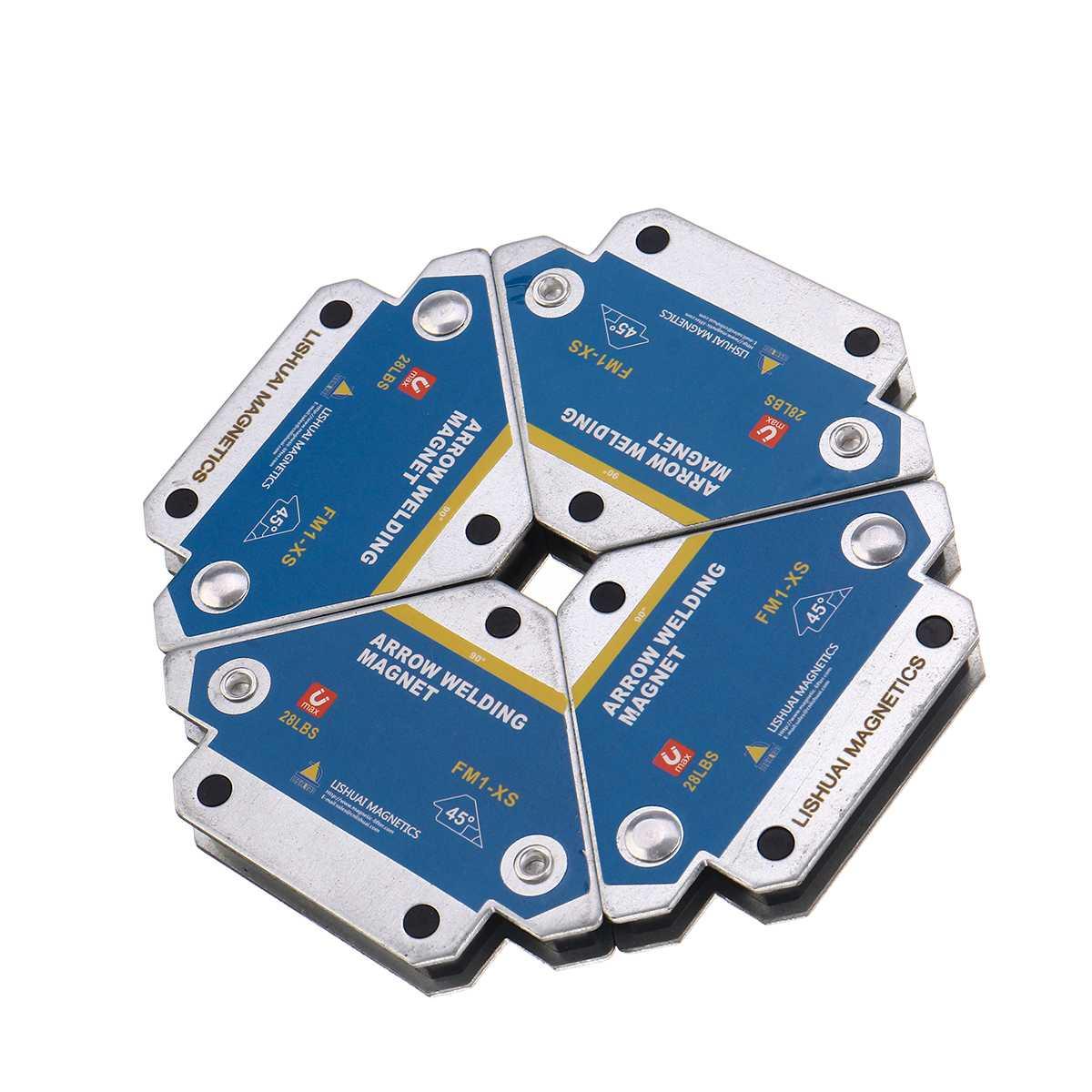 4 шт. магнитные сварочные держатели, многоугольный припой со стрелкой, магнитный фиксатор сварки, позиционер, Ферритовое удержание, вспомог...