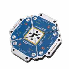 4 sztuk magnetyczne uchwyty spawalnicze multi-angle lutowane strzałka magnes spawacz Fixer pozycjoner ferrytowy gospodarstwa pomocnicze lokalizator narzędzia