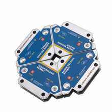 4 pçs suportes de soldagem magnética multi-ângulo de solda seta ímã fixador de solda positioner ferrite segurando ferramentas de localizador auxiliar
