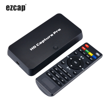Ezcap 295 HD Video Capture 1080P Recorder USB 2.0 Playback Hardware H.264 Encoding Capture Cards For Xbox One PS4 w/ Remote