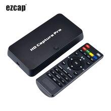 Ezcap 295 HD przechwytywanie wideo 1080P rejestrator USB 2.0 odtwarzanie sprzętu H.264 kodowanie karty przechwytywania dla Xbox One PS4 w/ Remote