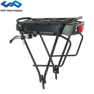 48V 10Ah 480Wh E-Bike Rear Rack Battery With Double Layer Luggage Rack for Bafang TSDZ2 750W 500W 350W Electric Bicycle Engine