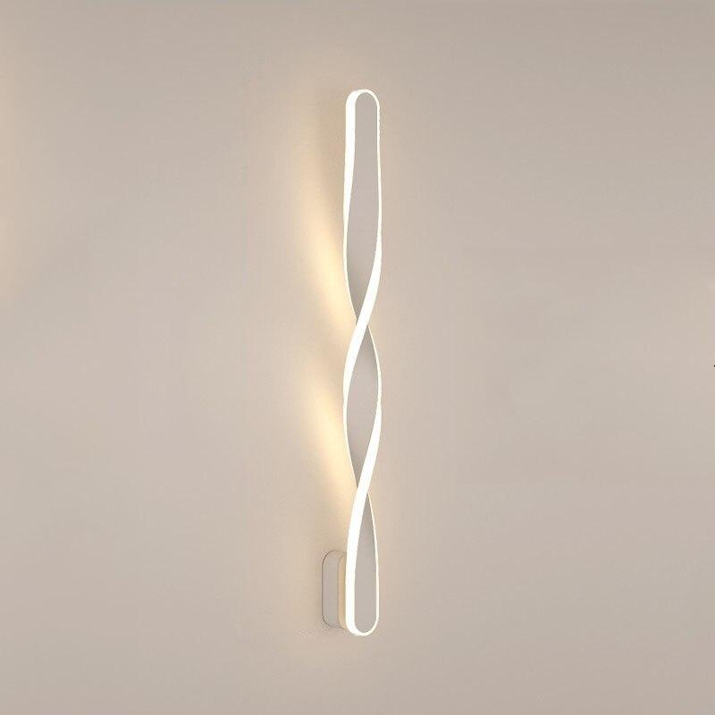 (Wecus) designer especial 70cm lâmpadas de parede led