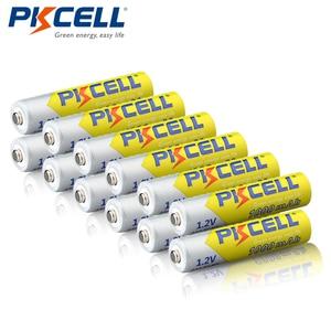 Image 1 - 12 ピース/ロット PKCELL ニッケル水素電池 AAA 1000mAh 1.2V ニッケル水素充電式バッテリー 3A 電池 Baterias カメラ懐中電灯用のおもちゃ